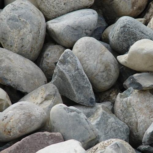 "Bulk River Rock 3"" - 6"""