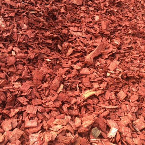 Red Wood Chips Bagged