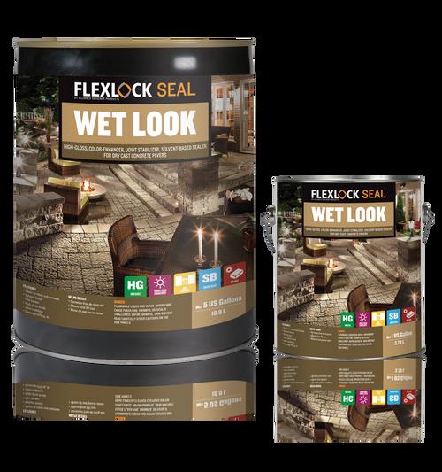 Sealant Flexlock Wet Look 3.78L Sb