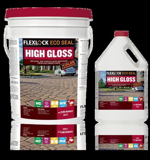 Sealant Flexlock + Color Enhan Ecoseal High Gloss 3.78L Wb