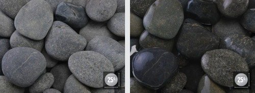 "Mexican Pebble Black 2-3"" Bag 18 Kg Bag"