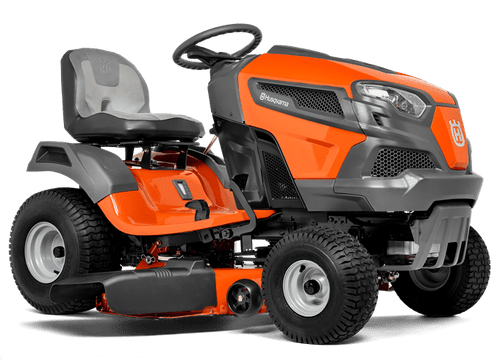 """18.5HP B&S Endurance w/Ready, 42"""" Reinforced, Pedal Hydro, New hood/Steering/hand hold/SK seat"""