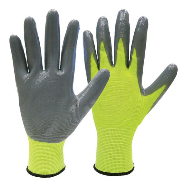 Nitrile Coated Gloves 6PRL/XL