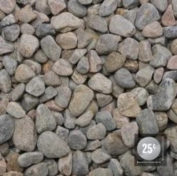 "Bulk River Rock 1"" - 1.5"""
