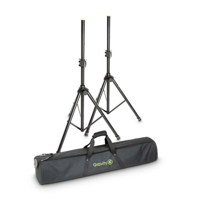Gravity GSS5211BSET1 Speaker Stand Pair With Bag