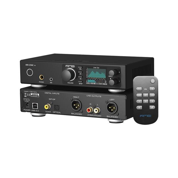 RME ADI-2 DAC With Remote Control Angle