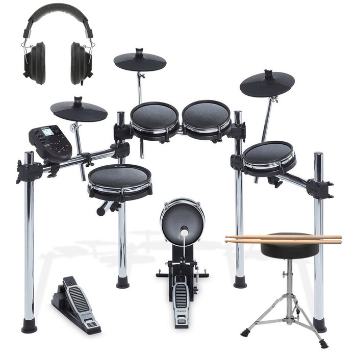 Alesis Surge Mesh Kit With Sticks, Stool & Headphones