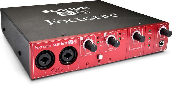 Focusrite Scarlett 8i6 Focusrite Scarlett 8i6 USB 2.0 Audio Interface Angle