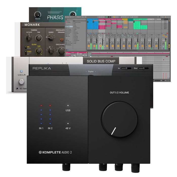 Native Instruments Komplete Audio 2 Software