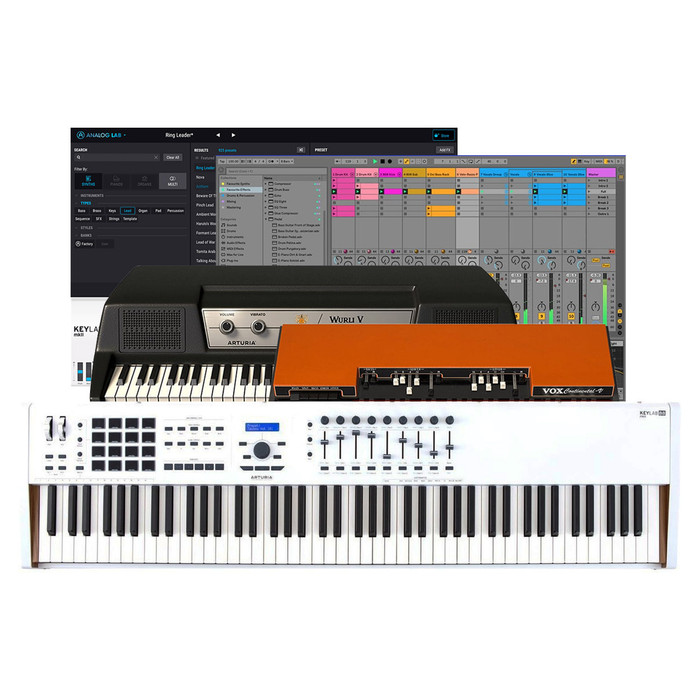 Arturia Keylab 88 MKII Top Software