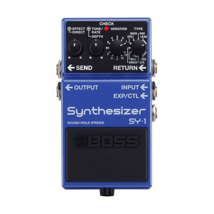 Boss SY-1 Synthesizer Top