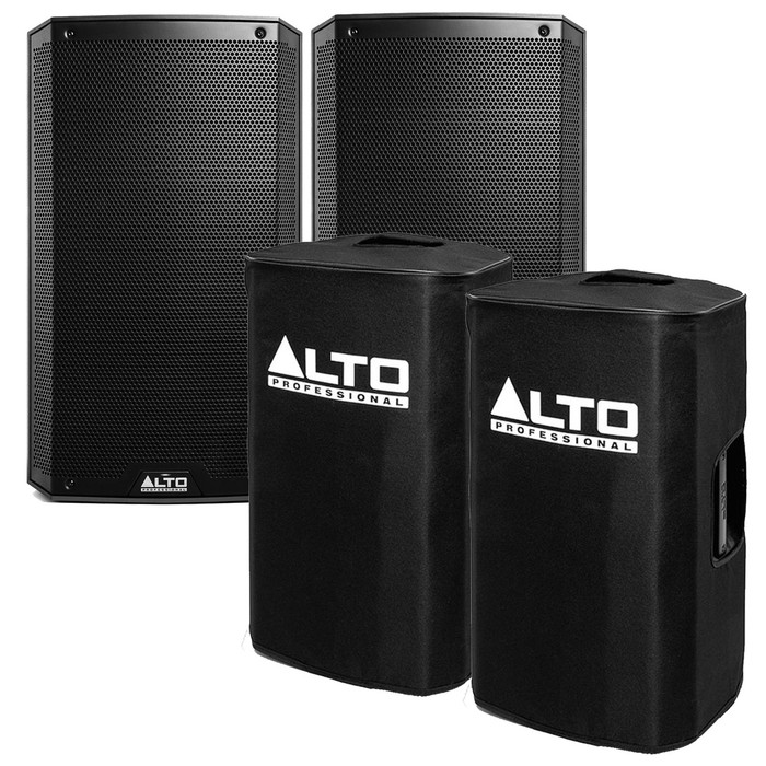 Alto TS312 (Pair) With Alto Speaker Covers