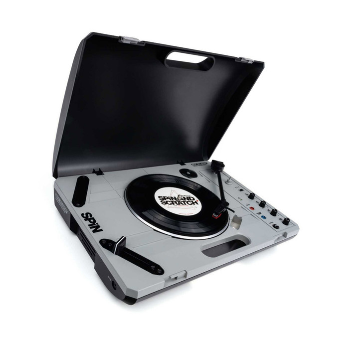 Reloop Spin DJ Turntable Angle