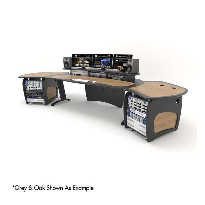 AKA Design ProEdit With 2 x 12U Racks, 2 x Jointer Kits & 2 x Worktops (Grey & Nero)