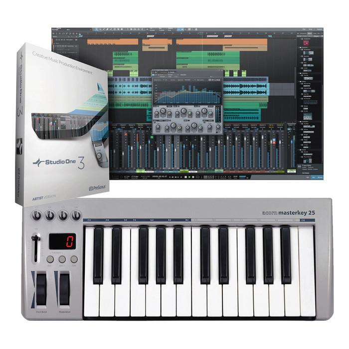 Acorn Instruments Masterkey 25 MIDI Keyboard