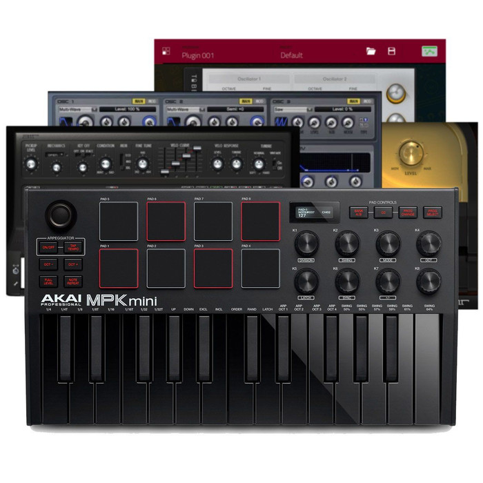 Akai MPK Mini MK3 Black Software