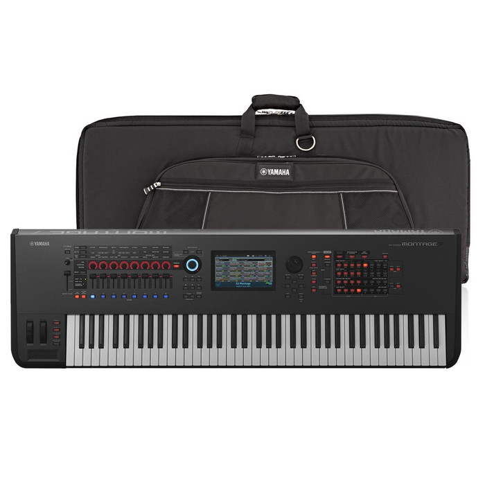Yamaha Montage 7 with Genuine Soft Case