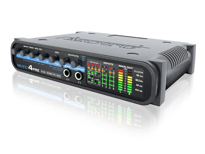 MOTU 4Pre Hybrid Audio Interface