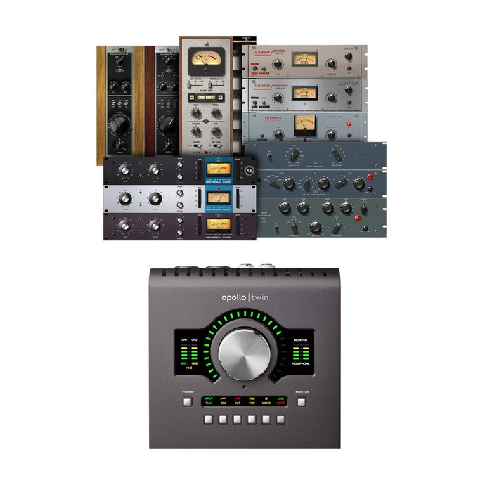 Universal Audio Apollo Twin DUO MKII (Heritage Edition) 3