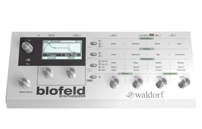 Waldorf Blofeld (Modular Synthesizer) - Front