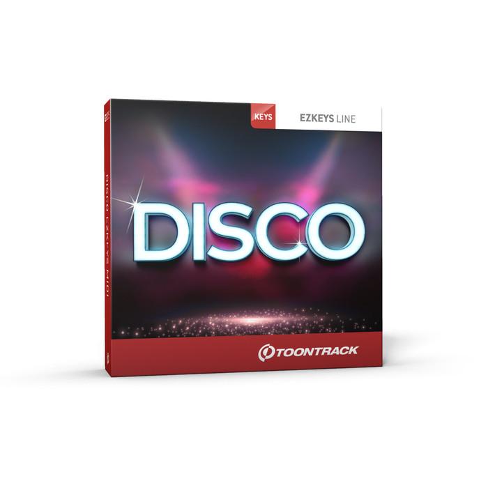 Toontrack EZkeys Disco MIDI (Download) Box