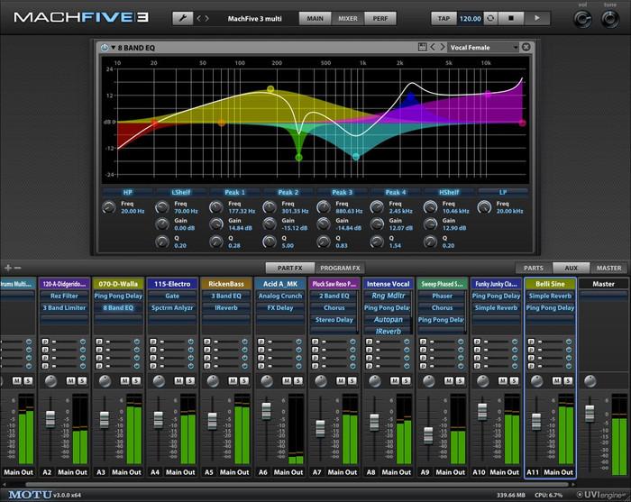 MOTU MachFive 3 VST Virtual Sampler Software