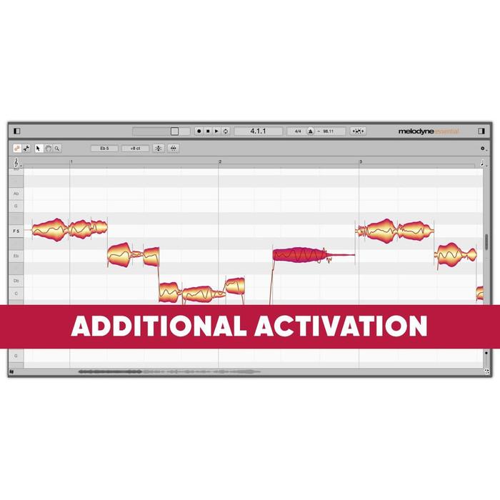 Celemony Melodyne 5 Essential Additional Activation (Download)