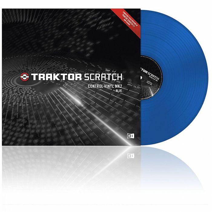 Blue Traktor Control Vinyl MK2