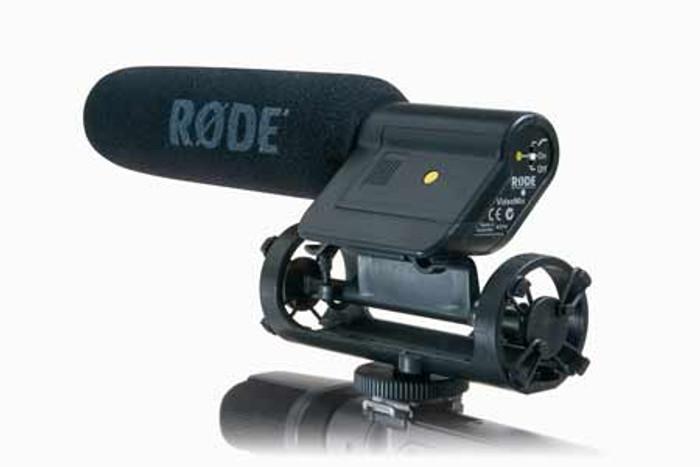 Rode VideoMic Shotgun Camcorder Microphone