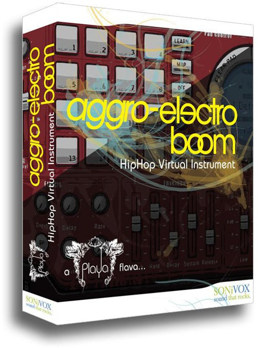 SoniVox Playa Aggro Electro Boom Virtual Sampler Software