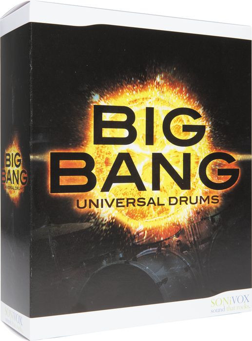 SoniVox Big Bang Universal Drums Box
