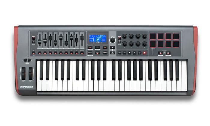 Used Novation Impulse 49 - USB MIDI Keyboard