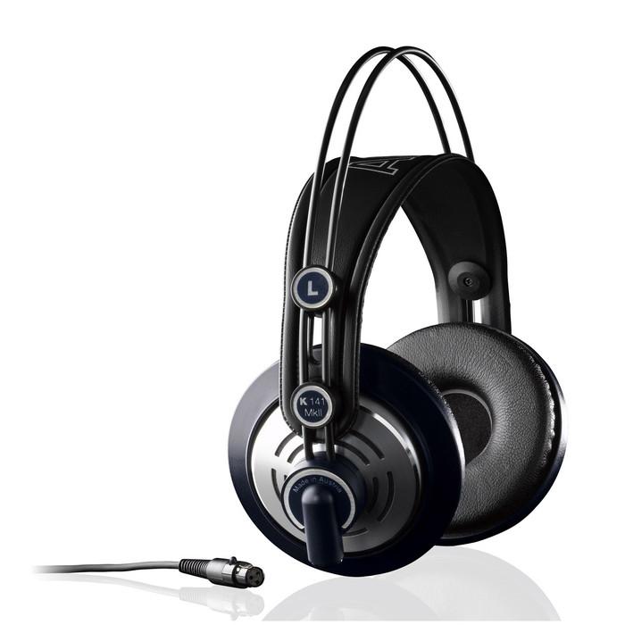 AKG K141 MKII Studio Headphones Angle With Cable