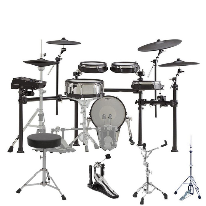 Roland TD-50K2 with Hardware Accessory Package