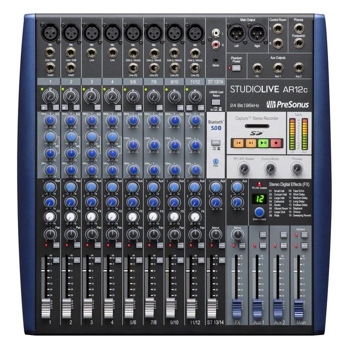 Used Presonus StudioLive AR12c
