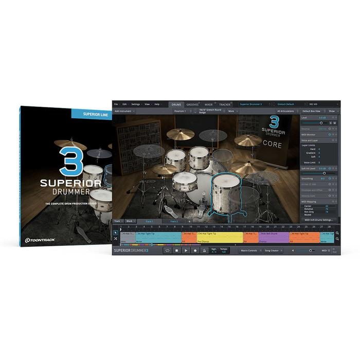 Toontrack Superior Drummer 3 Bundle (Download) 1