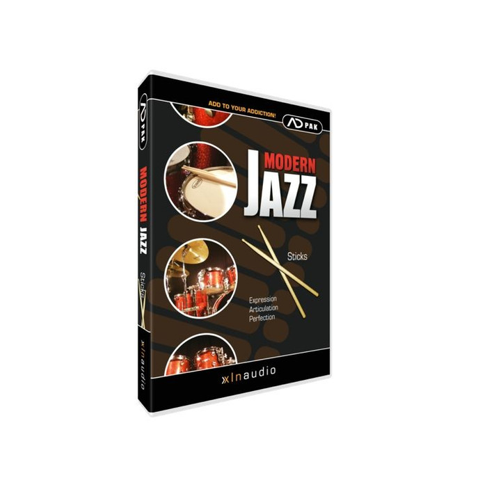 XLN Audio Modern Jazz Sticks ADpak