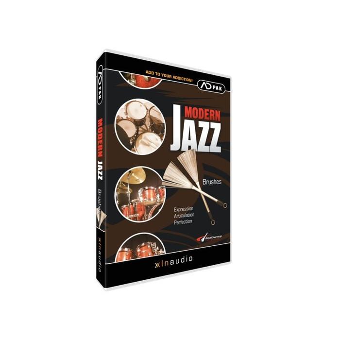 XLN Audio Modern Jazz Brushes ADpak