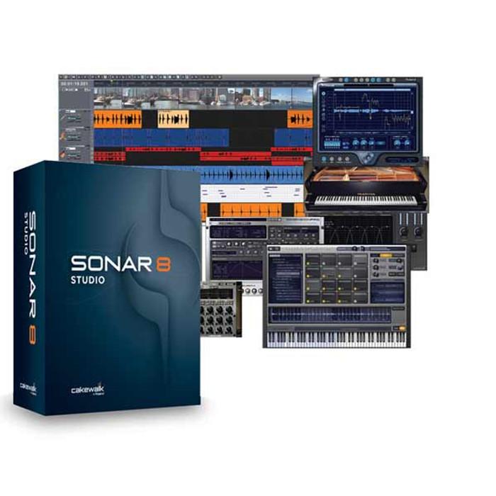 Cakewalk SONAR 8 Studio Inc Free Next Version Upgrade