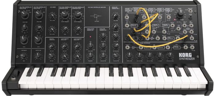 Korg MS20 Mini 37-Key Classic Analog Synthesizer Keyboard