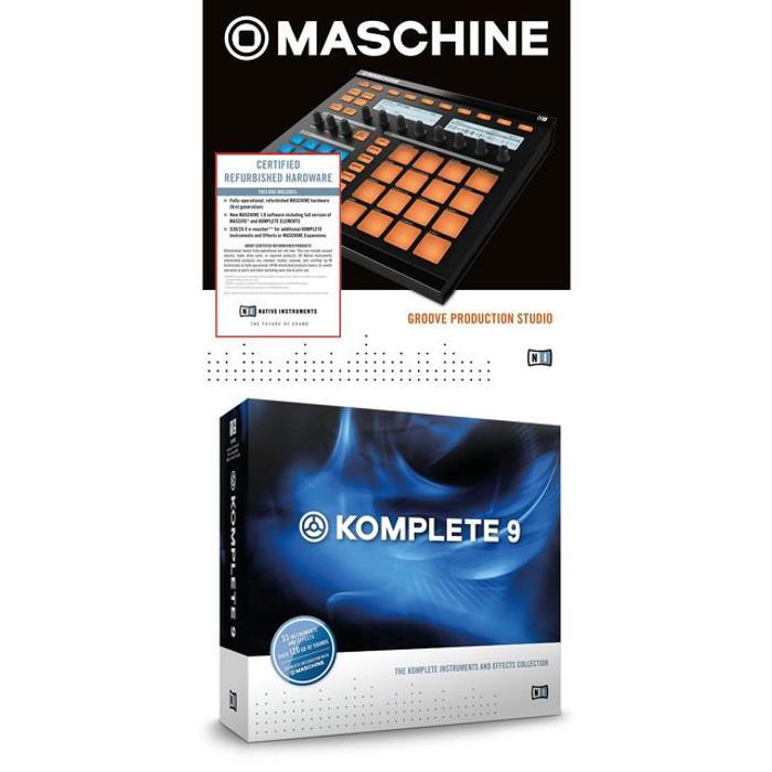 Native Instruments Maschine MK1 Refurb & Komplete 9 Bundle