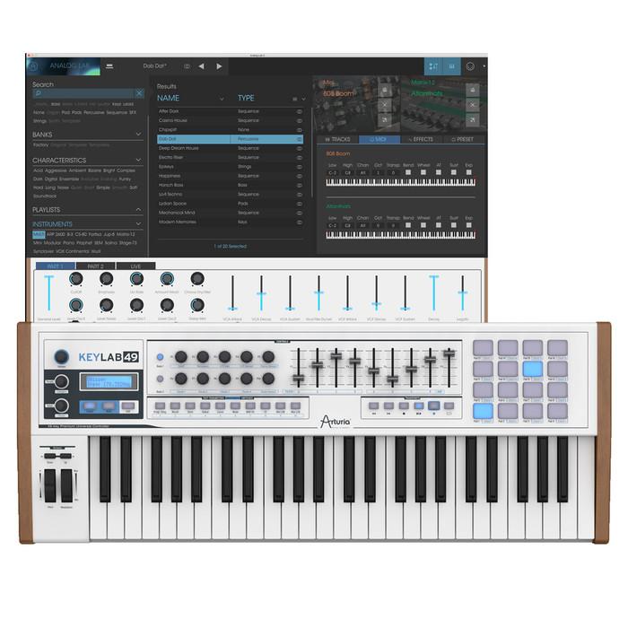 Arturia Keylab 49 MIDI Keyboard With Software