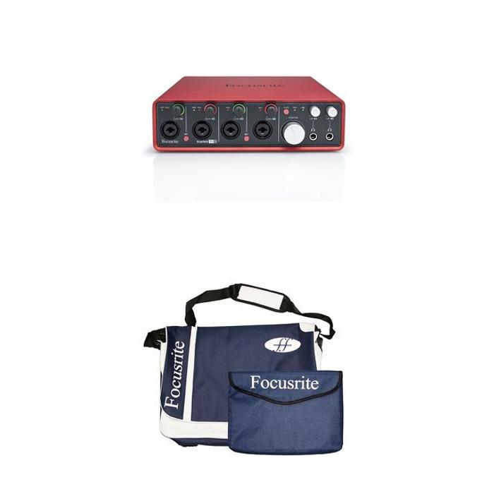 Focusrite Scarlett 18i8 with free genuine Focusrite Laptop Bag