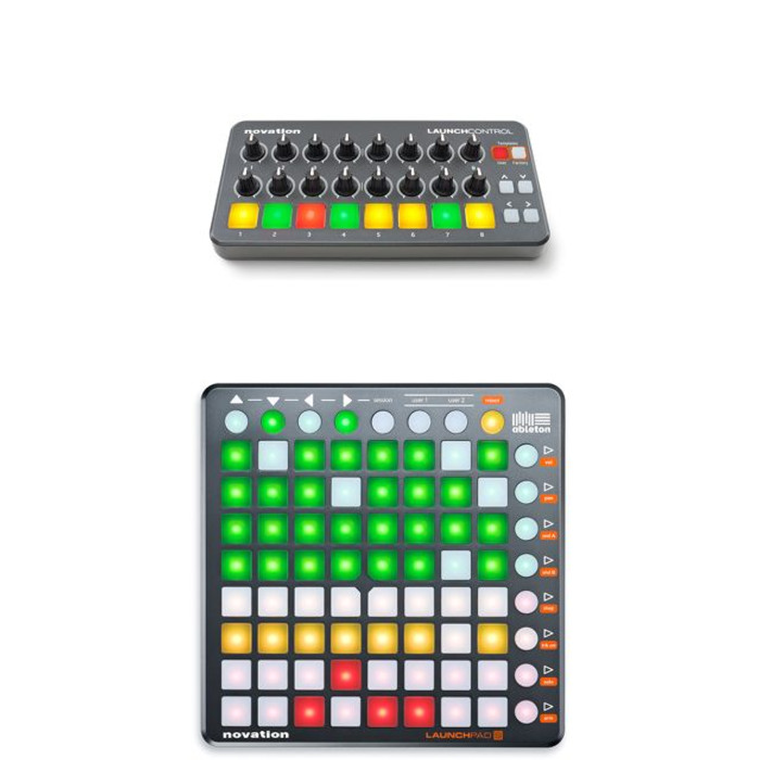 Novation Launch Control and Launchpad S