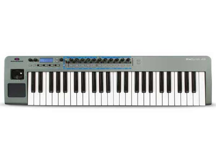 Novation XioSynth 49 Key Synthesizer USB MIDI Controller Keyboard