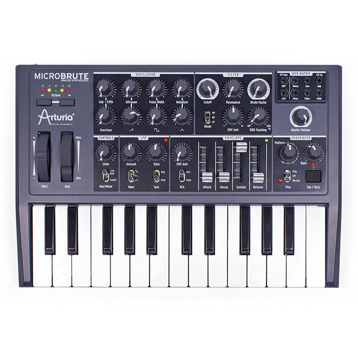 Arturia MicroBrute 25 Key Analogue Synthesizer Keyboard