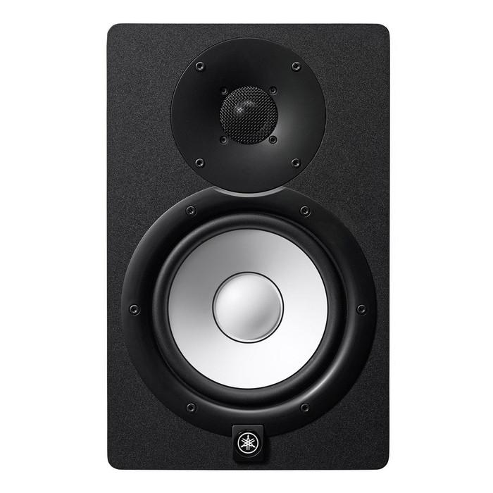 Yamaha HS7 Black Single Studio Monitor Front