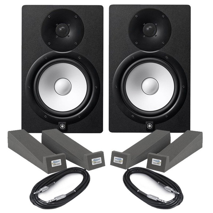 Yamaha HS5 (Pair) With Isolation Pads & Cables
