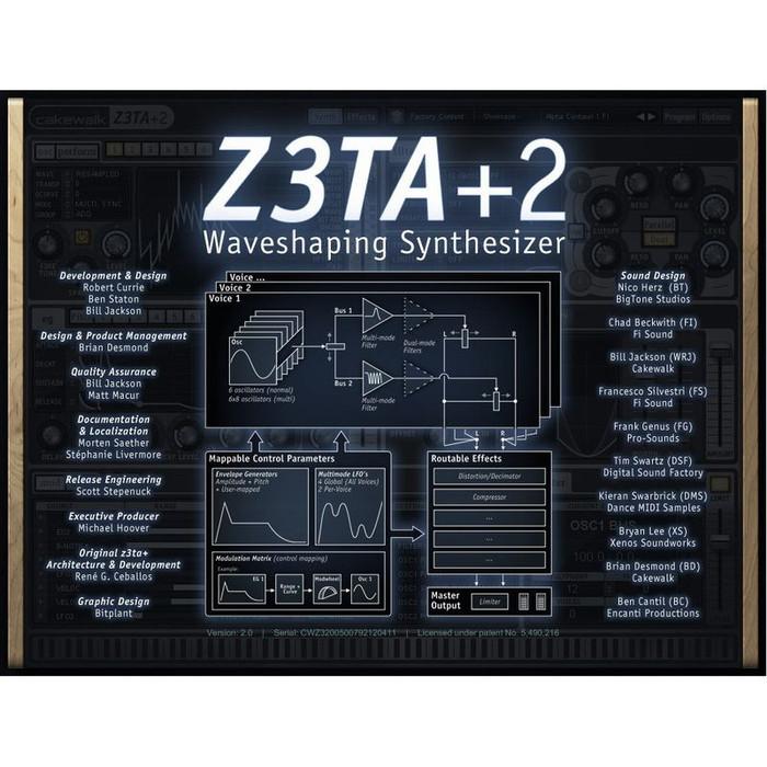 Cakewalk Z3TA+2 1