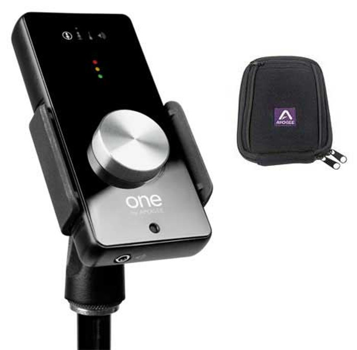 Apogee ONE USB Audio Interface + Case + Stand Clip